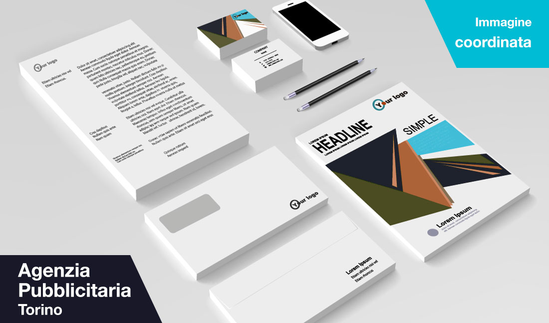 Agenzia pubblicità Torino - immagine coordinata