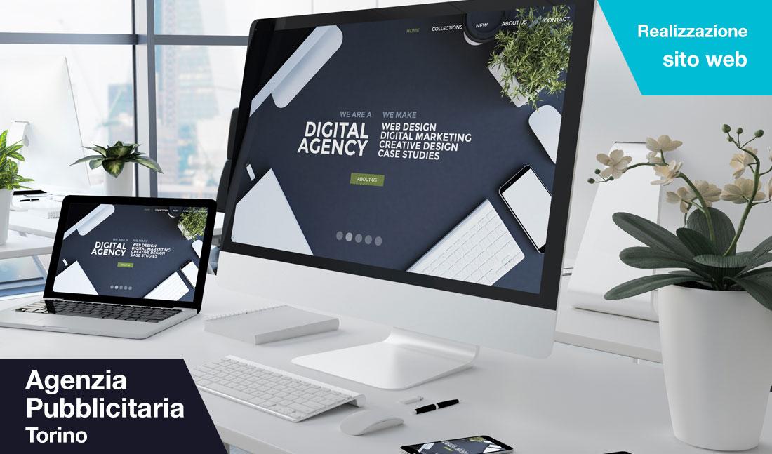 Realizzazione sito web Agenzia pubblicitaria Torino