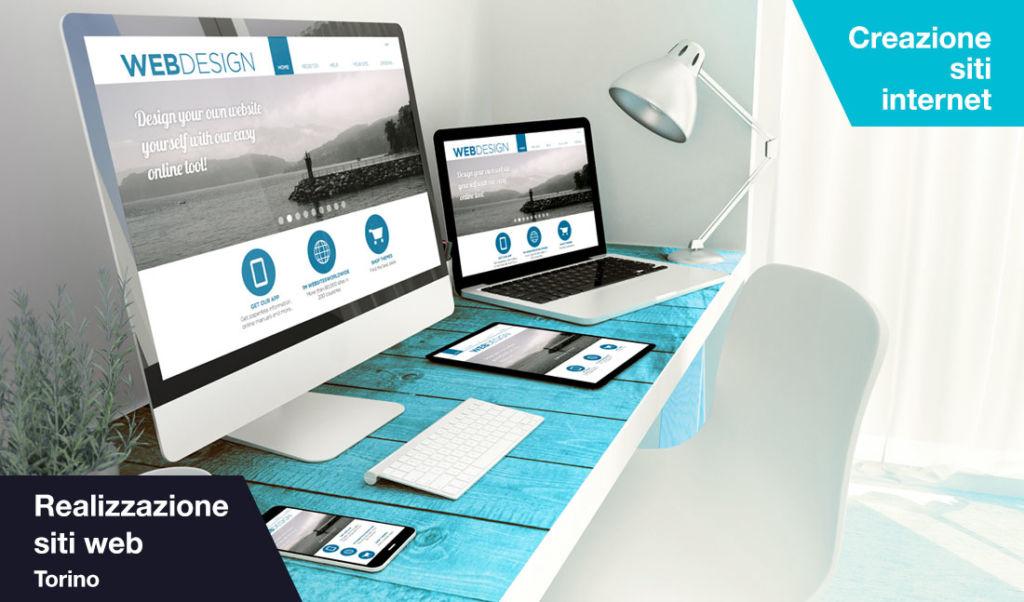 Realizzazione siti web e creazione siti internet Torino