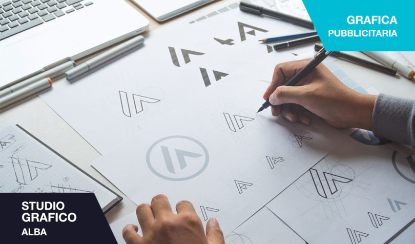studio grafico Alba - studio del marchio